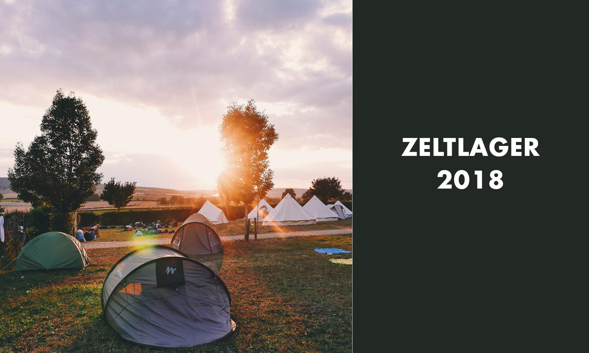 Zeltlager 2018