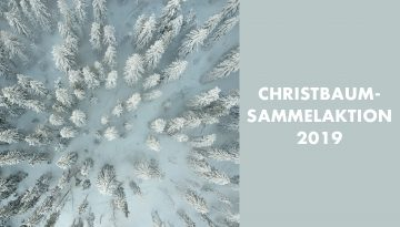 christbaumsammelaktion 2019
